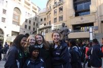 In Nelson Mandela Center