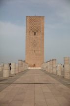 unfinished minaret